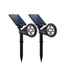 Solar Lights,URPOWER 2-in-1 Waterproof 4 LED Solar Spotlight Adjustable ... - $49.95