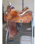 "14"" FQHB BILLY COOK GREENVILLE TEXAS WESTERN BARREL HORSE SADDLE W/ALUMI... - $790.90"