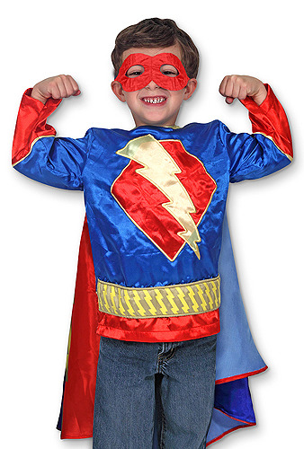 Primary image for Super Hero Role Play Costume Set 3-6 Years