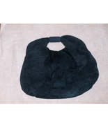 Jacqueline Ferrar Black Suede Leather Purse - $14.97