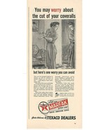 1943 Vintage Ad Texaco Dealers, Let us Marfax Your Car - $8.99