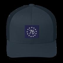 Betsy Ross hat / betsy Ross Trucker Cap image 10