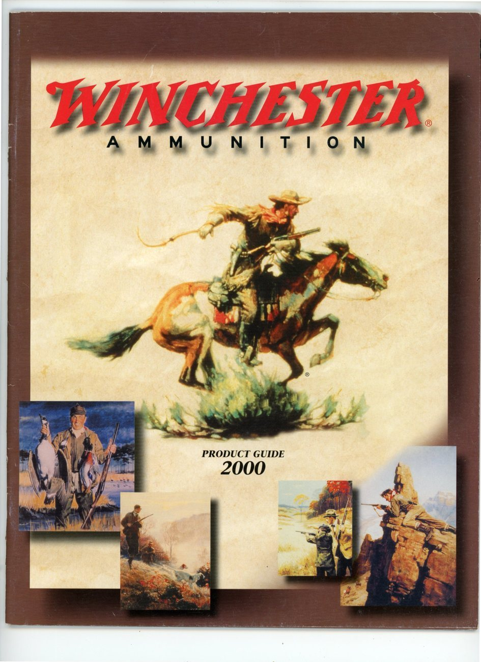 Primary image for Winchester ammunition catalog product guide 2000 boxes bullets advertising