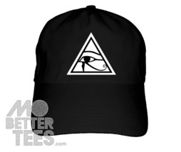 eye of horus black dad hat - $14.99