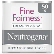 Branded Neutrogena Fine Fairness Cream SPF 20/PA+ 50g Free Shipping - $15.23