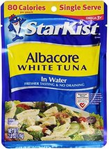 StarKist Albacore White Tuna in Water, 2.6-Ounce Pouch Pack of 2 image 3