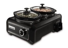 Crock-Pot SCCPMD1-CH Hook Up Connectable Entertaining System, Double Oval - $881,86 MXN