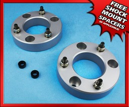 """For 2007-2020 Chevy Tahoe 1500 2.5"""" Billet Front Spacers Lift Kit Silver 4X2 4X4 - $50.00"""