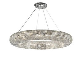 Crystal Ring Chandelier Modern/Contemporary Lighting Floating Orb Chande... - €2.296,20 EUR