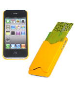 SHELL COVER CREDIT NAME CARD HOLDER CASE for iPhone 4G - $5.41