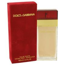 DOLCE & GABBANA by Dolce & Gabbana Eau De Toilette Spray 3.3 oz (Women) - $164.59