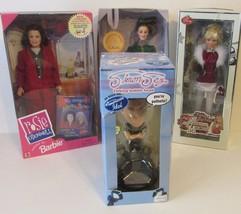 4 Dolls: Simon Cowell, Rosie O'Donnel,Katia, Ha... - $58.41