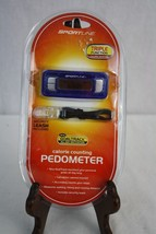 Sportline Triple Function Calorie Monitor Pedometer with Security Leash - $9.49