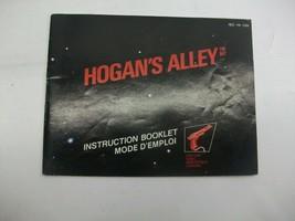 Hogan's Alley Nintendo NES Vintage Video Game Instruction Booklet Manual ONLY - $7.98