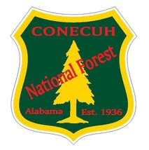 Conecuh National Forest Sticker R3220 Alabama You Choose Size - $1.45+