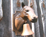 Cowhide lamp shade 0135 and horse head bell 022 thumb155 crop