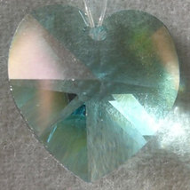 18mm Crystal Heart Hair Jewel image 2