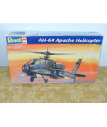 2003 Revell AH-64 Apache Helicopter Model Kit  1/48 Scale - $17.99