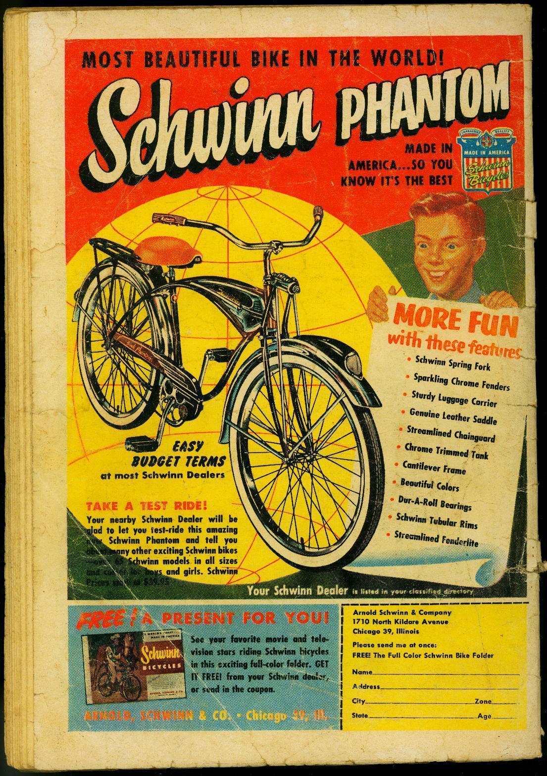 SUPERBOY #52 1956 DC POWER-BOY FIRST SILVER AGE ISSUE FR