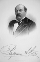 BENJAMIN A. WILLIS New York Lawyer & Congressman - SUPERB Portrait 1877 ... - $13.86