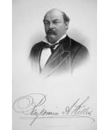 BENJAMIN A. WILLIS New York Lawyer & Congressman - SUPERB Portrait 1877 ... - $13.86