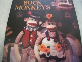Crocheted Sock Monkeys - $5.00