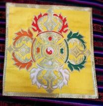 Tibetan Buddhist double dorje small mats / coasters/ thilden/altar /tabl... - $10.89