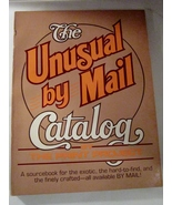 The Unusual by Mail Catalog 1980 Prudence McCullough, Editor - $4.00