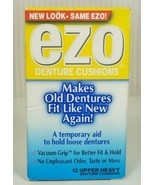 Ezo Denture Cushions Upper Heavy 12 Count (1 Box)  New Discontinued - $59.40
