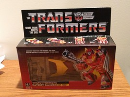 Transformers G1 Hot Rod Walmart Exclusive 2018 Generation One Reissue Autobot - $38.61