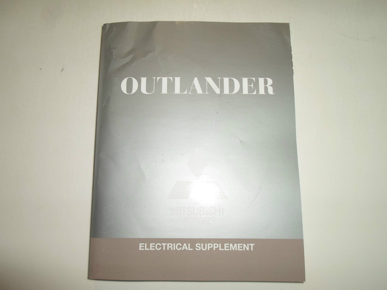 2012 MITSUBISHI Outlander Electrical Supplement Manual FACTORY OEM BOOK 12 WORN