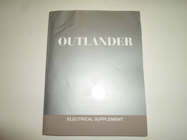 2012 Mitsubishi Outlander Electrical Supplement Manual Factory Oem Book 12 Worn - $63.35