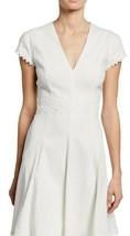 Elie Tahari  Dress w/ Lace-Trim Size 8 - $79.97