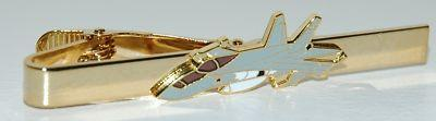 US Navy FA-18 Hornet Tie Clip