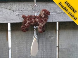 Boykin Spaniel Deluxe crate tag 2 sided, hang anywhere, agility dog show... - $18.00