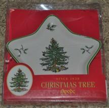 Spode Christmas Tree Peace Star Porcelain Candy Dish Trinket Dish - $14.01