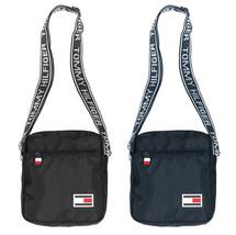 Tommy Hilfiger Moto Mini Unisex Cross Body Adjustable Travel Flight Bag TC090MO9