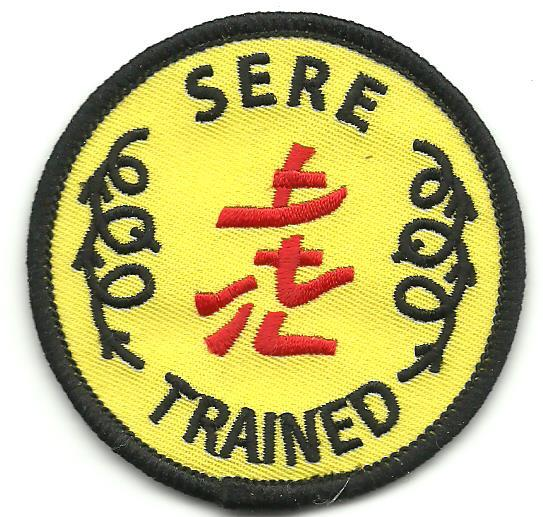 United States Army SERE TRAINER Patch