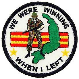 United States Veteran We were Winning When I Left Patch