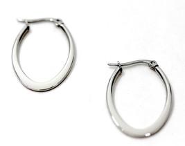 """eli k Womens Titanium Steel 1 1/4"""" Point Tear Drop Hoops Earrings - $12.59"""