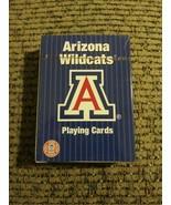 Genuine Licensed Collegiate Arizona Wildcats Poker Playing Cards NIB - $9.40