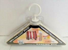 Original Space Bag Vacuum - Seal Large Hanging Garment Bag Protect FREE ... - $16.83