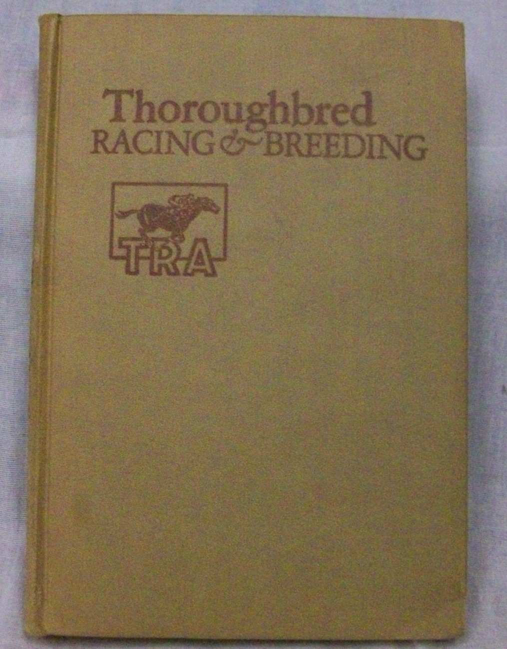 Primary image for Throughbred Racing and Breeding