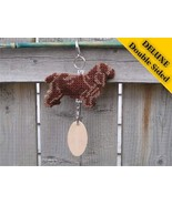 Sussex Spaniel Deluxe crate tag 2 sided, hang a... - $23.00