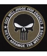 US Navy SEAL God Will Judge Military Patch Green - $9.99