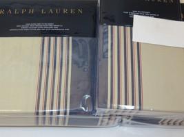 Ralph Lauren Corbet 4P Queen Sheet Set Saranac Peak Stripe - $203.65