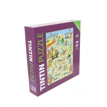 Tintin King Ottokar's sceptre 1000 pieces puzzle with poster NEW