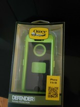 OtterBox Defender Series Case for iPhone 5 - Black/Green NEW Sealed - $23.27