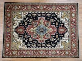 "8'10""x12' HandKnotted Serapi Heriz Tribal Design Pure Wool Oriental Rug ... - $996.40"