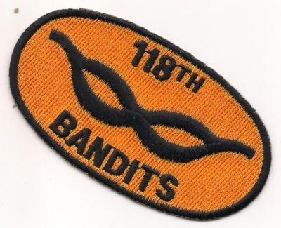 US Army 118th AHC Assault Helicopter Company Bandits Vietnam Patch